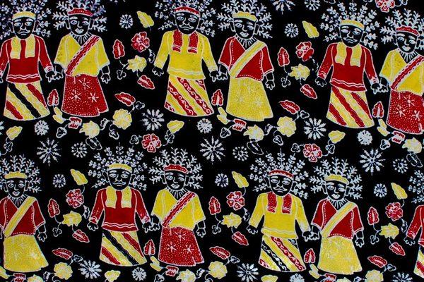 Batik Betawi Motif Ondel-ondel