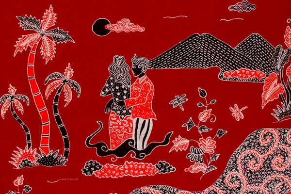 Batik Betawi Motif Salakanegara Demenan