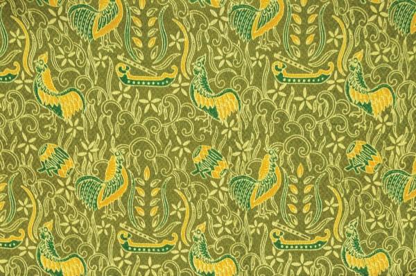 Batik Cianjur Hayam Pelung