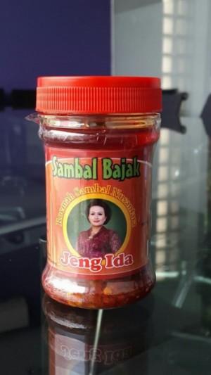 Sambal Bajak, salah satu sambal andalan dari Sambal Jeng Ida