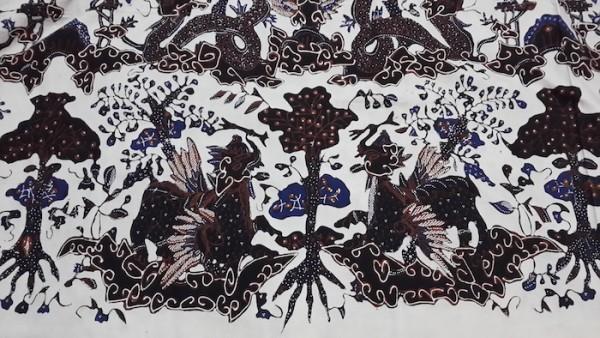Batik Keraton motif Singa Barong, terinspirasi dari kereta kencana Keraton Kasepuhan