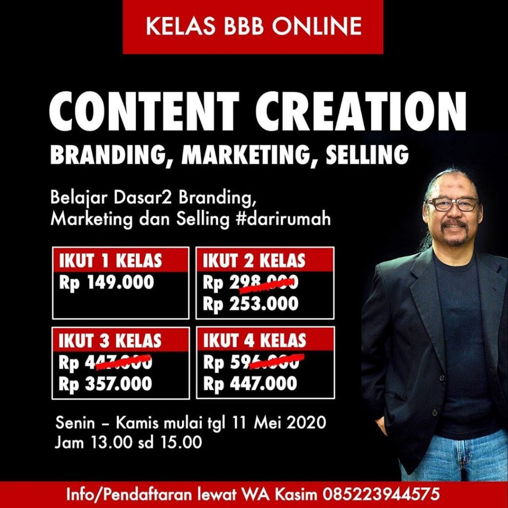 Selling Marketing Branding