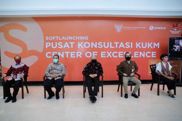 Resmi Dibuka, Pusat Konsultasi KUKM Siap Beri Solusi Masalah Pelaku Usaha Kecil