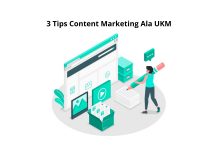 3 Tips Content Marketing Ala UKM